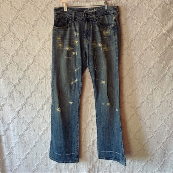 0b39a541 Men's X-Ray Boot Cut Distressed Jeans. M_5c8af5ddc61777504f57e892